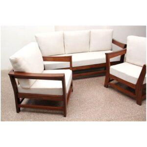 Indus Sofa 3+1+1 set mohogani finish-0
