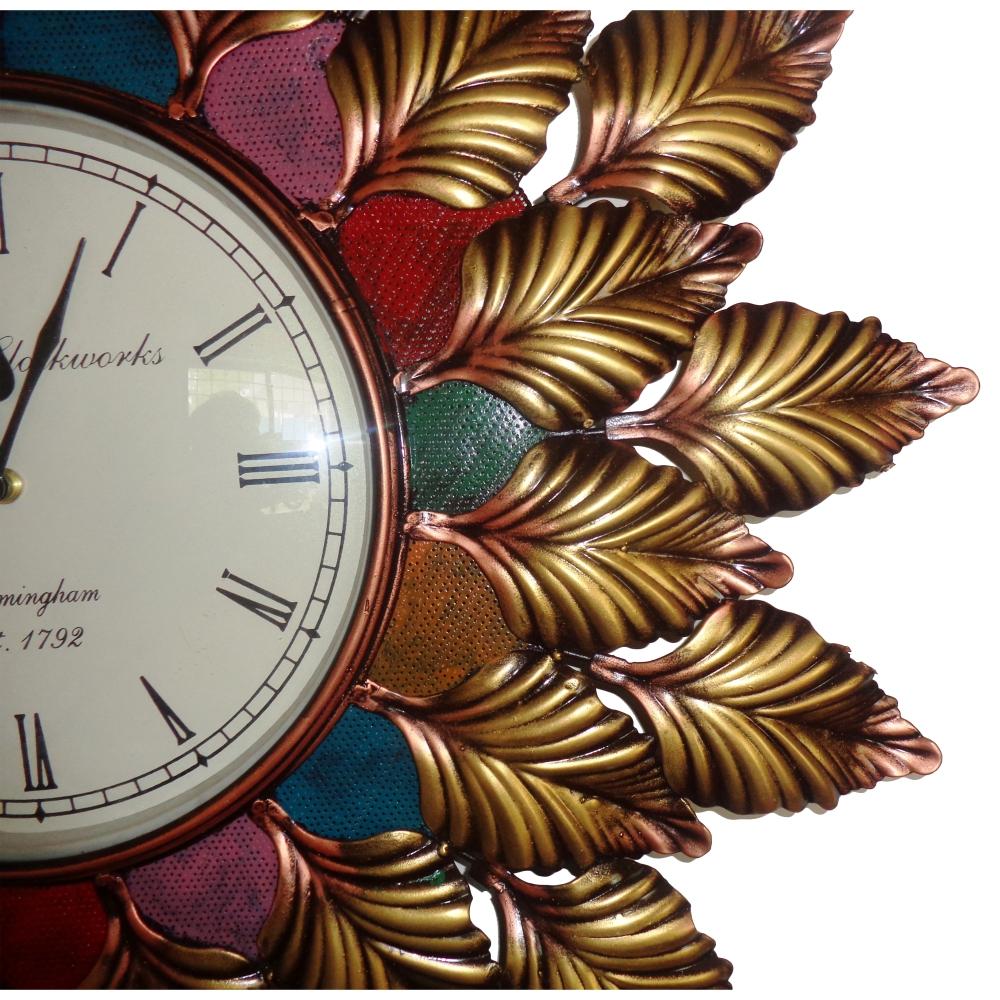 Exclusive Designer Captivative Pankhudi Wall clock-0