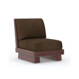 Low Seating Sofa 3+2+1 Set Walnut-0