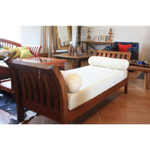 Tilt Arch Diwan cum sofa Natural finish-0