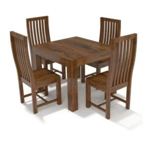 Cube Dining Set Four Seater-0