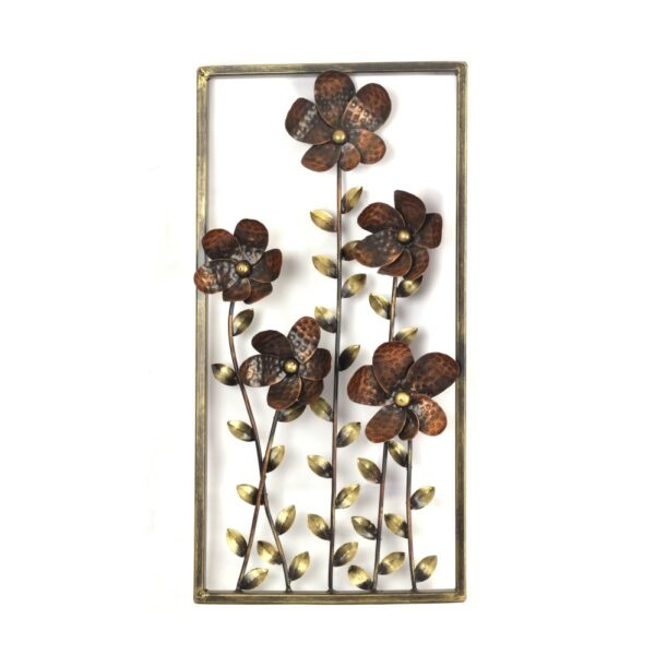 Wall Frame 3D flower and leaves wall decor- RW45-98