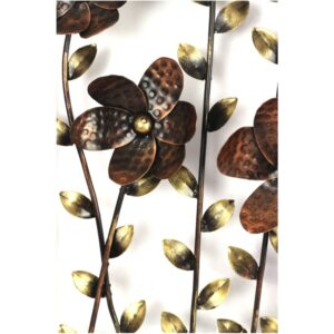 Wall Frame 3D flower and leaves wall decor- RW45-0