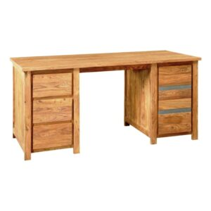 Wooden study table RAW Finish BSST03-0