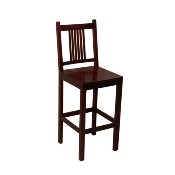 Wooden-furniture-bar-chair-made-out-of-sheesham-wood-walnut-finish