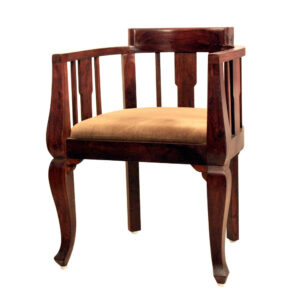 wooden-chair-round-armrest-for-living-room-hotels-solid-sheesham-wood-furniture-online