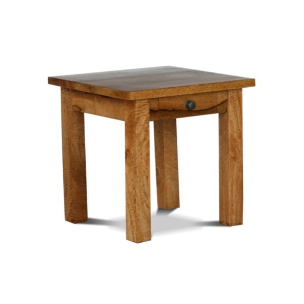 Wooden end table Ashoka. Solid wood furniture online