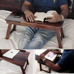Laptop table for bed / breakfast table P2-0