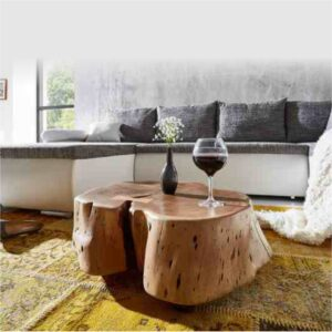 live edge wooden center table craft