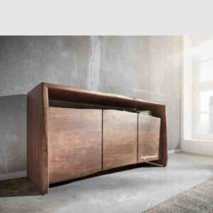 Wooden sideboard live edge