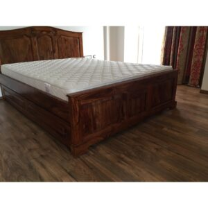 MANDALA Queen/King bed with storage-0