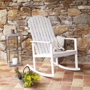 Wooden Rocking Chair Dove