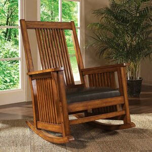Wooden Rocking Chair Earth