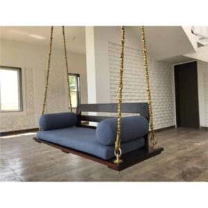 wooden swing jhula